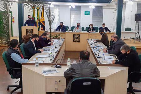 Imagem Resumo sessão ordinária Câmara de Vereadores de Soledade dia 21/09